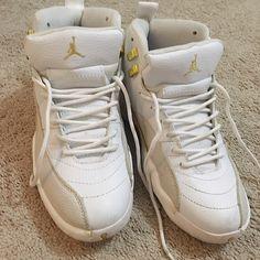 new products d89b3 3f36f Jordan Shoes   Drake White Air Jordans 12   Color  White   Size  8.5