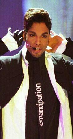 "Prince during his ""Emancipatoon"" era."