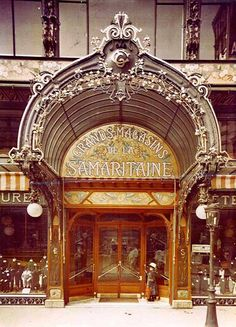 La Samaritaine was an art nouveau palace of retail..article on the rebirth of this store in 2018