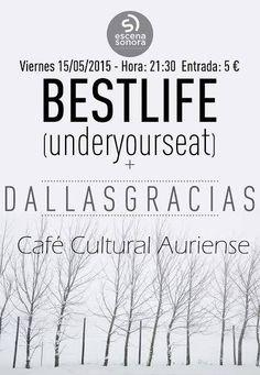 Concierto de BestLife + DallasGracias en Ourense. Ocio en Galicia | Ocio en Ourense. Agenda de actividades: cine, conciertos, espectaculos