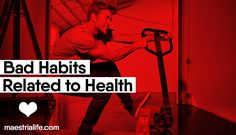 Bad habits can often blinking your health.  They can make you anguish.  They can have long-term affects re your physical condition.  If you hurting to live a long moving picture and healthy liveliness, there may be some bad habits you craving to overcome.