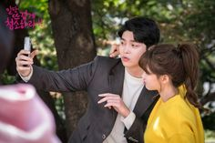 """New behind the scene photos of """"Clean with Passion for Now"""" are revealed. On November JTBC posted photos of Kim Yoo Jung, Yoon Kyun Sang, and Song Jae Rimthat raise viewers' excitement towards the drama's premiere. Kwak Si Yang, Kdrama, Kyun Sang, Kim You Jung, Song Jae Rim, Moonlight Drawn By Clouds, Web Drama, Weightlifting Fairy Kim Bok Joo, Boys Over Flowers"""