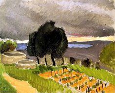 Henri Matisse - Paysage du Midi, Avant l'Orage vers1921