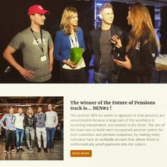 Last weekend BEN participated with two teams in the #Dutch #Blockchain #Hackathon. In the track Future of Pensions BEN team 2 won! Congratulations on the team developing the winning project Nestegg  #DBH #ben #blockchaineducationnetwork #blockchain #bitcoin #factom #crypto