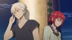 Aww Zen and Shirayuki are so awkwardly adorable together >_< - Akagami no Shirayukihime