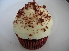 Traditional Red Velvet Cupcakes