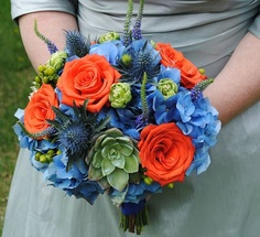 Loved my wedding bouquet from Liesl B Floral Design.