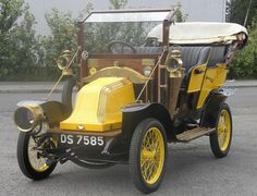 1910 Renault AX Tourer