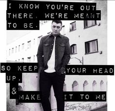 The angel voice also known as Sam Smith..