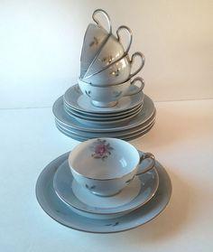 fine china tea set...ready to ship