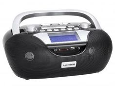 Rádio Portátil AM/M - USB e Entrada Auxiliar - Mondial BX-12