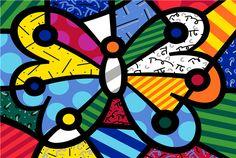 Best value Romero Britto Painting – Great deals on Romero Britto Painting from global Romero Britto Painting sellers Butterfly Painting, Butterfly Art, Art Drawings For Kids, Art For Kids, Canvas Poster, Canvas Art, Art Papillon, Bright Colors Art, Pop Art