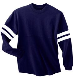 Striped Team Tee | Varsity Shop - Cheerleading Shoes & Uniforms