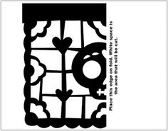 1719 1411 fiesta de arte pinterest for Papel picado template for kids