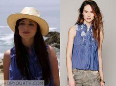 Awkward: Season 4 Episode 20 Jenna's Blue Crochet Top