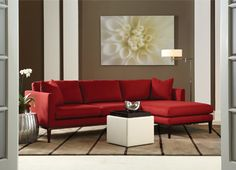 American Leather : Henley Sectional