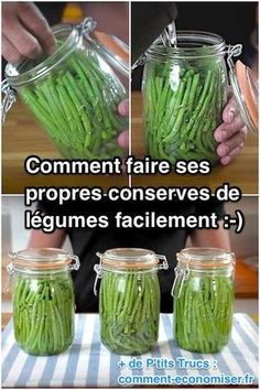 How to easily make your own canned vegetables. - How to easily make your own canned vegetables. Batch Cooking, Cooking Tips, Canning Pickles, Salty Foods, Aquaponics System, Canning Recipes, Food Hacks, Food And Drink, Dry Rubs