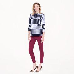 FASHION DUES & DUEN'TS - Classic Maternity Style Category | J.Crew Tall maternity Minnie pant