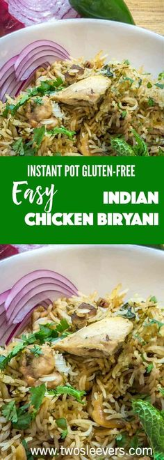I've finally figured out how to make an authentic-tasting biryani in the Instant Pot--without dirtyingevery dish in the house.