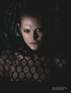 Catherine McNeil Is 'Clair-Obscur' By Wing Shya For Numéro #143 May - Gucci Dress