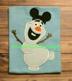 Olaf with Mickey Hat