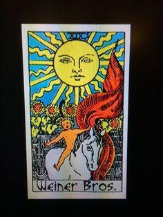 tarot logo for Weiner Brothers, creators of Mad Men