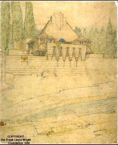 Lake Tahoe Summer Colony - Frank Lloyd Wright: Designs for an American Landscape, 1922-1932 | Exhibitions - Library of Congress