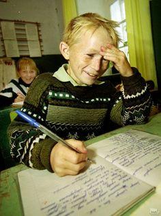 Деревенская школа. Геннадий Усоев (Рязанская обл)
