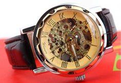 Męski Zegarek WINNER mechaniczny Blyskkotki