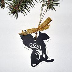 Dog Christmas decoration Bull Terrier Balthazar by PSIAKREW on Etsy