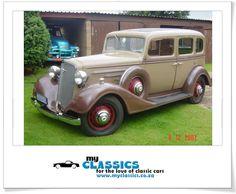 1934 Chevrolet Master Sedan classic car