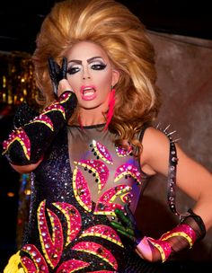 Alyssa Edwards (Justin Johnson - US) Alyssa Edwards, Adore Delano, Drag King, Queen Makeup, Rupaul Drag, Save The Queen, Lady Gaga, How To Look Better, You Stay
