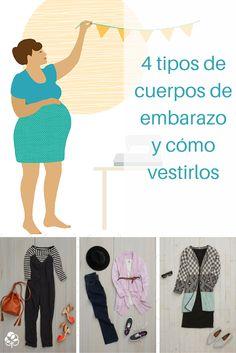 b6d13d7ae 4 tipos de cuerpos de embarazo y cómo vestirlos (fotos)
