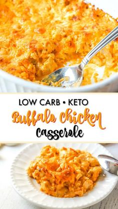 Weight Loss Diet Pcos Keto Buffalo Chicken Casserole - great low carb dinner with only net carbs. Loss Diet Pcos Keto Buffalo Chicken Casserole - great low carb dinner with only net carbs. Low Carb Chicken Recipes, Low Carb Dinner Recipes, Keto Dinner, Beef Recipes, Easy Low Carb Recipes, Protein Recipes, Dinner Healthy, Low Crab Recipes, Low Carb Chicken Dinners