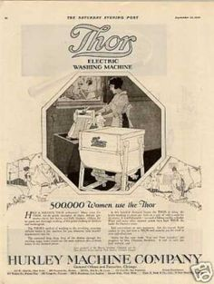 Hurley Thor Washing Machine (1920)