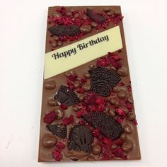 Belgian Milk Chocolate Crunchie Sprinkles Oreos and Raspberries :) A great gift :) #chocolate #willoughby #chocolabau #yum #delish #aussiefoodie #sydneyfoodie #gift #gifts #giftideas