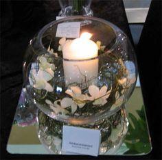 Large Fish Bowl - Hunter Valley Wedding Flowers