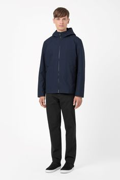 COS | Hooded cotton jacket