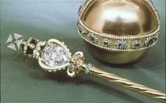 The Cullinan Diamond    The biggest rough diamond ever found was uncovered in South Africa in 1905. It    has also found its way into the British crown jewels - the Cullinan was    presented to King Edward VII and broken into first three pieces and then    nine. The largest section was added to the sceptre, seen above.