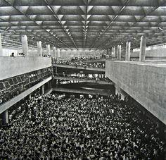 João Batista Vilanova Artigas, the Faculty of Architecture and Urbanism at the University of São Paulo, c. 1970.