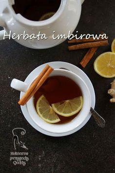 Kulinarne przygody Gatity: Rozgrzewająca herbata z imbirem