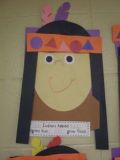 79 Best Thanksgiving Pilgrims Native Americans Crafts Classroom