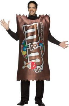 M bag of candy costume