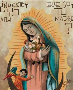 Oración madre virgen de guadalupe morenita bella