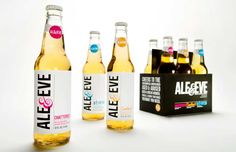 This is so cute with the clever little sayings. Now this is good marketing beer to women IMPDO.