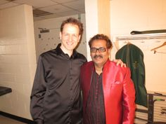 Hariharanji with Attila at #NYC