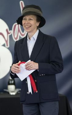 Princess Anne, during the Festival of British Eventing at the Gatcombe Park, in Minchinhampton, England, UK, 3 Aug 2013.