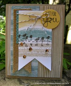 Canopy Crafts: Wetlands by the Beach {PP203}