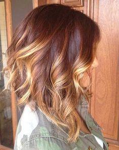 33 Estilos Balayage Color de pelo que te encantaría probar este 2016
