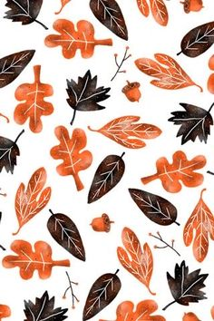 Fall design Autumn is here! Why not swap out that old wallpaper with something seasonal, like this fall-approved pattern? iPhone, iPod Touch x … Iphone Wallpaper Herbst, Free Fall Wallpaper, November Wallpaper, Old Wallpaper, Calendar Wallpaper, Macbook Wallpaper, Free Iphone Wallpaper, Leaves Wallpaper, November Backgrounds
